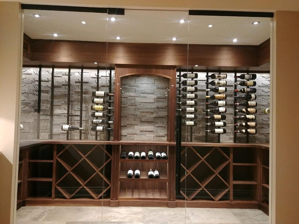 Luxury Wine Racking System